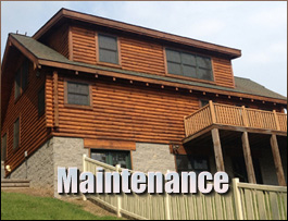 Log Home Maintenance  Muhlenberg County, Kentucky
