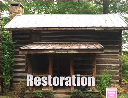 Log Cabin Restoration  Muhlenberg County, Kentucky